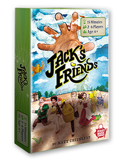 Jacks Friends boardgame order now
