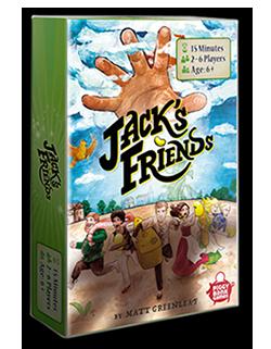 Jacks Friends boardgame order now